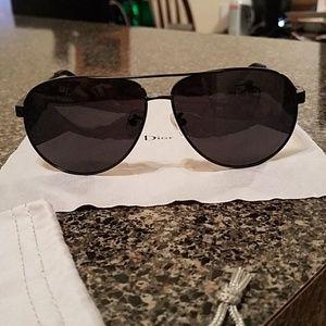 Dior Sunglasses Dark Aviators